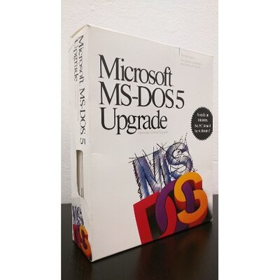 Microsoft MS-DOS 5 Upgrade