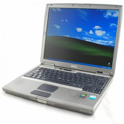 Dell Latitude D600 Pentium M 1.6GHz (trieda B), 1GB RAM, 40GB HDD, CD-RW/DVD, 14 XGA, Win XP