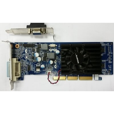 GIGABYTE GV-N62-512L GeForce 6200 512MB 64-bit GDDR2 AGP low profile