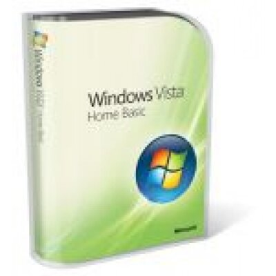 Microsoft WINDOWS VISTA HOME Basic EN 32-bit OEM
