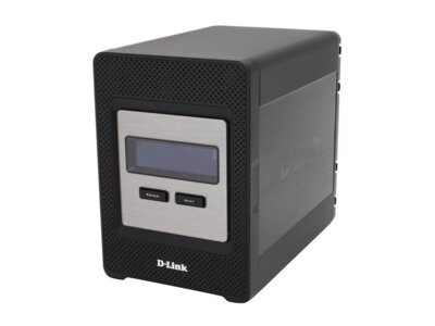 D-Link DNS-343, Network Attached Storage