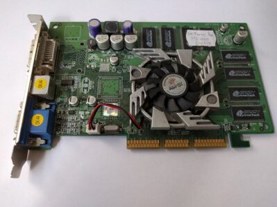 GeForce4 MX440-8X 64MB DDR +DVI+TV