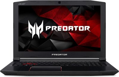 "Acer Predator Helios 300 Gaming Laptop, PH315-51-762A - i7-8750H, 16GB DDR4 RAM, 256GB SSD+1TB HDD, GeForce GTX 1060-6GB, VR Ready, Red Backlit KB, Metal Chassis, 15.6"" Full HD IPS 144Hz, Win 10"