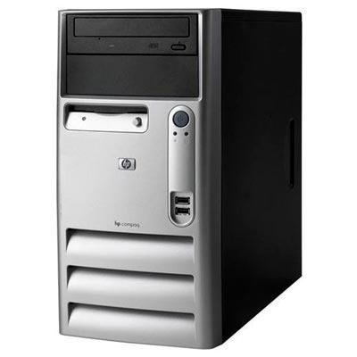 HP Compaq dx2000 MT Celeron D 2.66GHz, 512MB RAM, 40GB HDD, DVD-ROM, FDD
