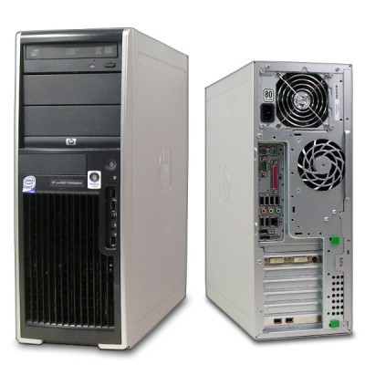 HP xw4600 Workstation, E6750, 4GB RAM, 160GB HDD, NVIDIA Quadro FX560, DVD-RW, Vista, Win 7 Pro