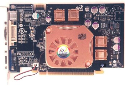 Inno3D 6800-XT PCI Express W/256MB DVI TV