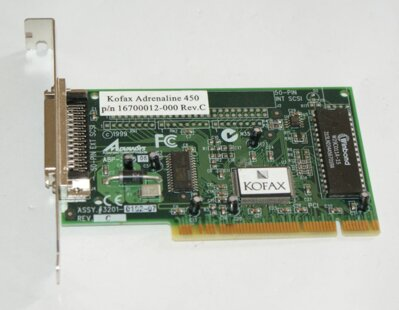 Kofax 450 Advansys ABP3925, PCI SCSI 50 pin