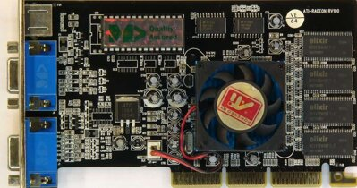 Manli ATi Radeon VE w/TV 64MB, 2x VGA
