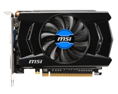 MSI N740-2GD5, 2GB VRAM