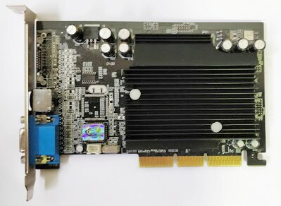 nVidia GF4 MX440-8X VER:Q 64M 128BIT DDR TV-OUT