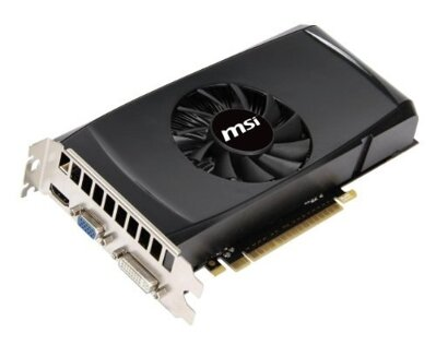 MSI nVidia GeForce N550GTX-Ti-MD1GD5 V2