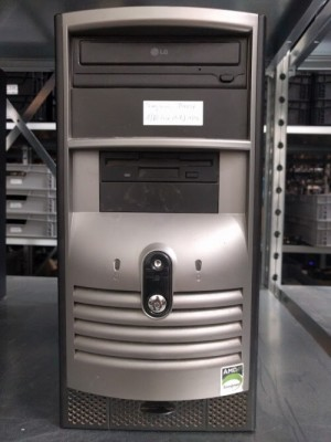 PC E4600, 2GB RAM, 160GB HDD, DVD-RW, FDD, Vista Home