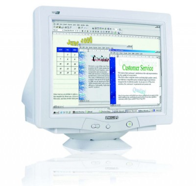 PHILIPS 107E6, 17 CRT monitor