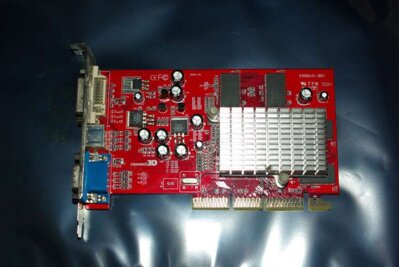 Radeon 9200 SE, 64MB(64Bit) DDR With DVI TV