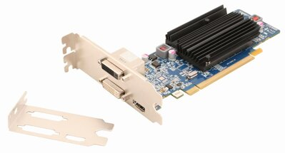 Sapphire HD6450 1G DDR3 PCI-E DL-DVI-I+SL-DVI-D/HDMI, 1GB VRAM, low profile
