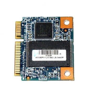 Toshiba LS-3445P, half mini PCIe turbo flash card 1GB
