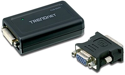TRENDnet TU2-DVIV USB to DVI/VGA Adapter TU2-DVIV (Version V1.0)