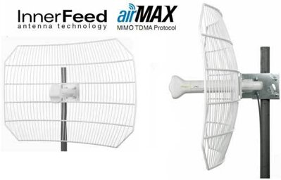 AirGrid M5 Hi Power 5GHz AirMax 11x14 Grid Antenna Feed