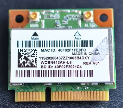 WiFi Wireless Card WCBN612AH-L6 for Lenovo IdeaPad S510P Laptop
