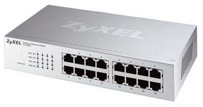 ZyXEL ES-116P, 16-portový ethernet switch, 10/100Mbps