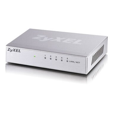 ZyXEL GS-105B, 5-port Desktop Gigabit Ethernet Switch