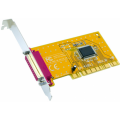EXSYS EX-41011 - 1P PCI Parallel card 32-Bit, EPP/ECP, (Oxford)